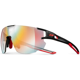 Julbo Aerospeed Segment Light Red Okulary przeciwsłoneczne, black/red/red-multilayer red